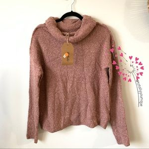 Listicle Wool Blend Turtleneck NWT Boutique